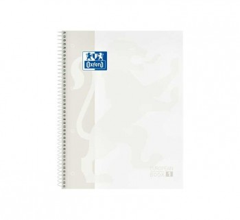 CUAD. OXFORD EBOOK1 A4 80H 5X5 T EXTRAD. BLANCO