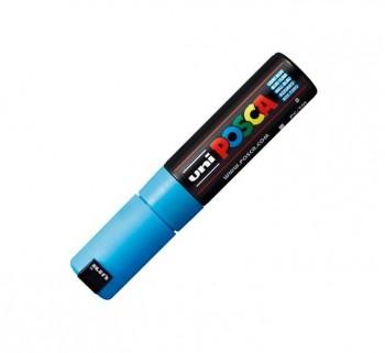 MARCADOR UNIBALL POSCA PC7M 4.5-5.5MM AZUL CL