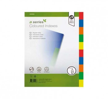 SEPARAD. A-SERIES 1-10 PP A4 COLORES AS0933