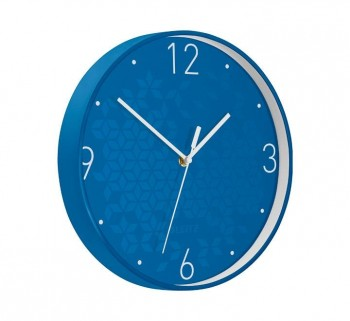 RELOJ PARED LEITZ WOW 29CM AZUL