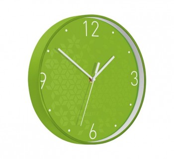 RELOJ PARED LEITZ WOW 29CM VERDE