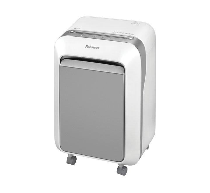 DESTRUCTORA FELLOWES LX211 MICROCORTE BLANCO