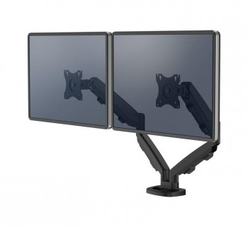BRAZO MONITOR FELLOWES EPPA DOBLE NEGRO