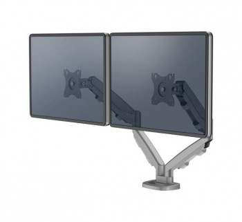 BRAZO MONITOR FELLOWES EPPA DOBLE PLATA