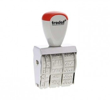 FECHADOR TRODAT MANUAL S PLACA 5X32MM 1020