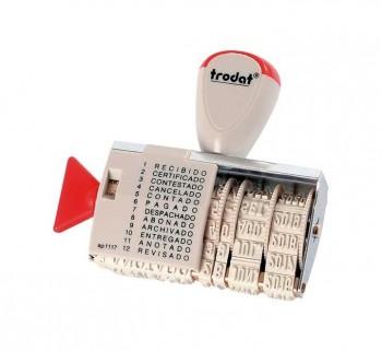 FORMULARIO FECHADOR TRODAT MANUAL 4X54MM 1117
