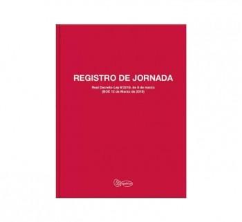 LIBRO MIQUEL RIUS REG. JORNADA ALBORAL Fº CAST
