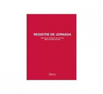 LIBRO MIQUEL RIUS REG. JORNADA ALBORAL Fº CAT