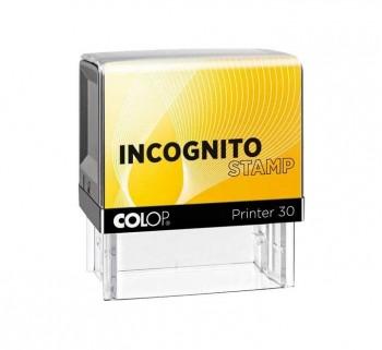 SELLO COLOP PRINTER 30 L INCOGNITO 18X47MM